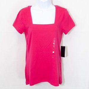 Philosophy Square Neck Knit Top T Shirt S 1800X